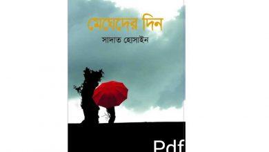 Photo of মেঘেদের দিন – সাদাত হোসেন Pdf Download