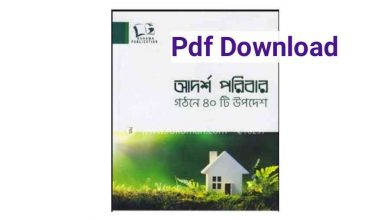 Photo of আদর্শ পরিবার গঠনে ৪০টি উপদেশ Pdf Download