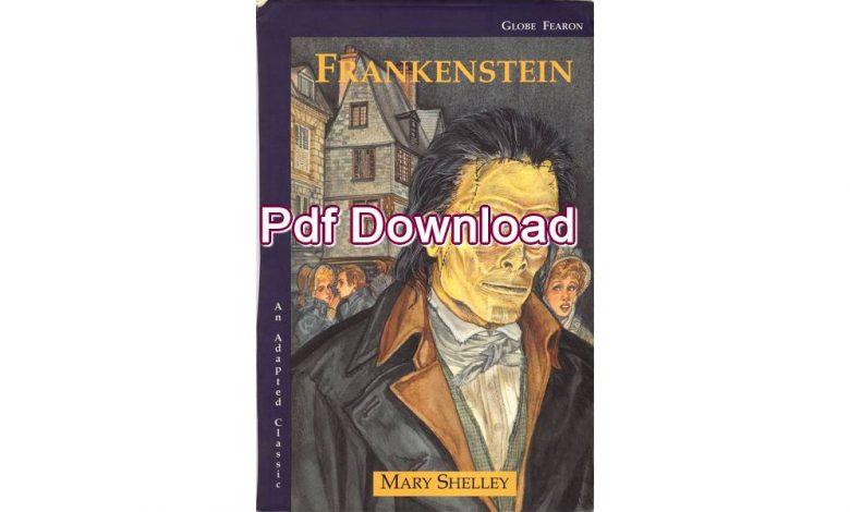 frankenstein childrens book pdf