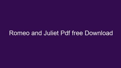 Photo of Romeo and Juliet Malayalam Pdf Download