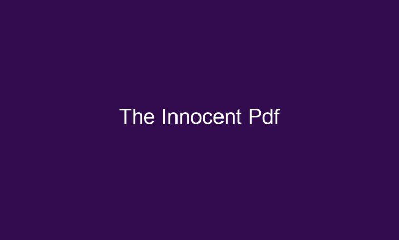 the innocent pdf 4469